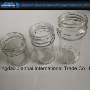 Famous Brand Chilli Sauce Storage Glass Bottle with Airtight Lids pictures & photos