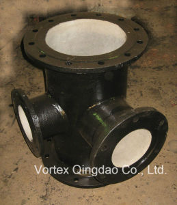 Russia-Hydrant Ductile Iron Pipe Fitting Cross Tee pictures & photos