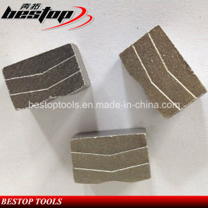 V Shape Diamond Segments for Hard Granite Cutting Blade pictures & photos