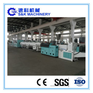 PVC Plastic Pipe Production Extruding and Making Machine pictures & photos