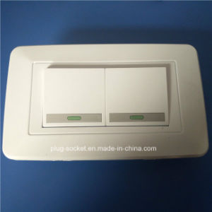 South America USA Wall Switch and Socket (W-094) pictures & photos