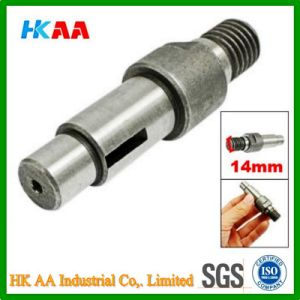 Custom Machining High Precision Shaft Spindle, Stainless Steel Thread Shaft pictures & photos