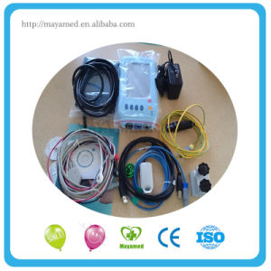 My-C001 Portable and Handheld Easy Operate Patient Monitor with Battery pictures & photos