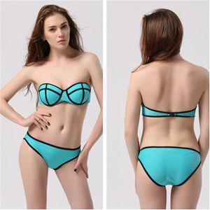 Cross Swimsuit Women Sexy Swimwear Lady Fashion Bikini (53001) pictures & photos