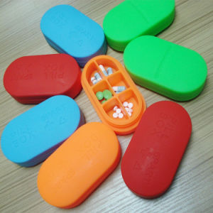 Food Grade Nontoxic Silicone Pills Box Pills Case pictures & photos