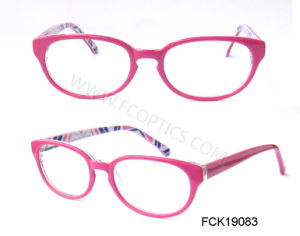Popular Italia Design Custom Girl Optical Frame pictures & photos