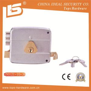 Security High Quality Door Rim Lock (50121-10-3M) pictures & photos
