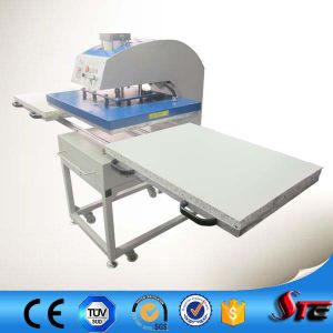 Stc Heat Press Machine CE Certificate Automatic Pneumatic Double Stations T-Shirt Sublimation Machine pictures & photos