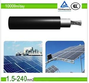 High Quality Low Resistance Tinned Copper DC Photovoltaic Cable pictures & photos