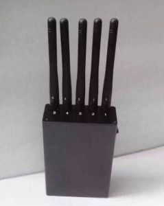 5 Band Handheld Portable, Mobile Cellular 2g 3G 4G Lte GSM CDMA Cellphone WiFi Bluetooth GPS Signal Jammer pictures & photos