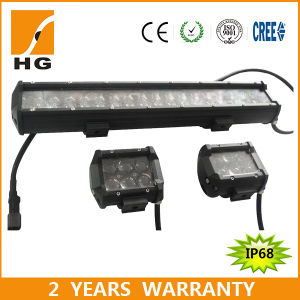 4′′ 30W 4D Osram Offroad LED Light Bar for Jeep Wrangler Trucks pictures & photos