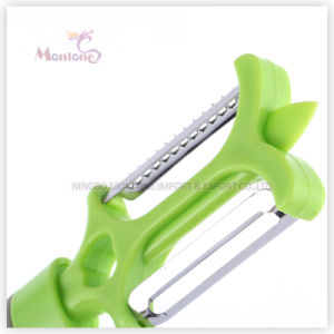 20.5*4.3cm Kitchen Tools Stainless Steel Multi-Function Peeler Paring Knife pictures & photos