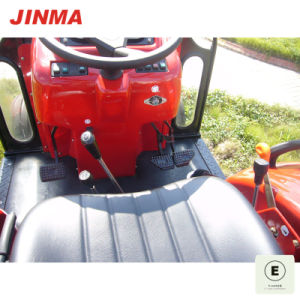 Jinma 4WD 25HP Wheel Farm Tractor with E-MARK Certification (JINMA 244E) pictures & photos