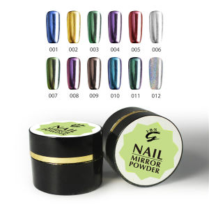 Special Effects Mirror Metallic Nail Powder pictures & photos