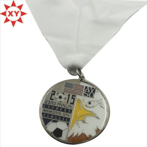 Hot Sell Football Metal Medals with Lanyard for Promotion Gifts pictures & photos