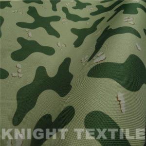 900d Polyester Camouflage Printing Fabric for Bags
