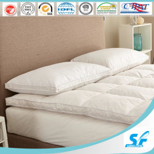 5 Star Hotel Used Soft Microfiber Filling Whole Mattress Topper