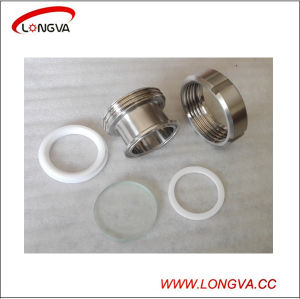 Sanitary Stainless Steel Pipe Fittings Union Type Sight Glass pictures & photos