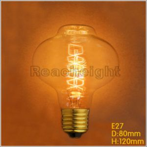 E27 D80 Spiral Round Shape Edison Bulbs Pendant Lamps pictures & photos