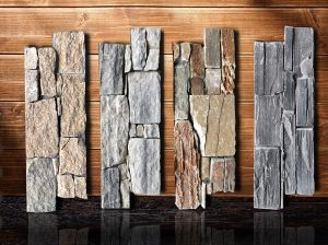 Natural Exterior Wall Cement Stacked Stone Panels (SMC-CC162) pictures & photos