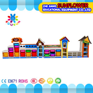 Wooden Toys Rack, Children Educational Toy Cabinet (XYH-12135-3) pictures & photos