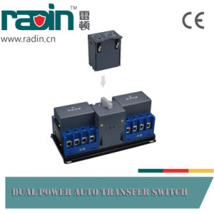 Rdq3cx-C Type Dual Power Auto Transfer Switch pictures & photos