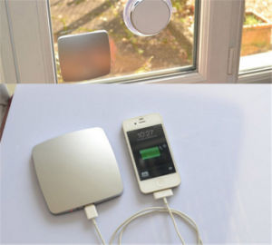 The New Creative Adsorption Window Solar Charger Mobile Power 4000mAh Power Bank pictures & photos