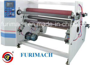 Air Shaft Single Shaft Fully Automatic Tape Rewinding Machine pictures & photos