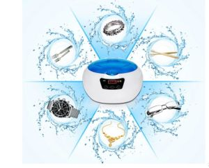 Digital Ultrasonic Cleaner Bearing Jewelry Watches 0.6L 35W 42kHz pictures & photos