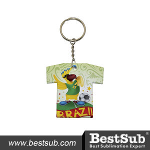 Promotional T-Shirt Shaped Plastic Keychain (PYA019) pictures & photos