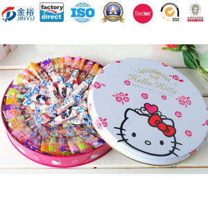 Round Shaped Custom Printing Food Container for Chocolate Box pictures & photos