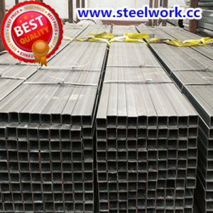 ERW Galvanized/ Annealing Welded Square Steel Pipe (T-02) pictures & photos