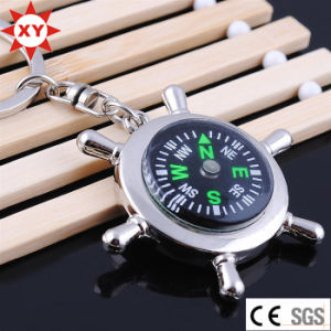 Hot Sell Product Metal Compass Keychain for Gifts pictures & photos