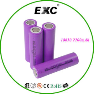 blue Lithium High Quality 18650 Li-ion Battery 3.75V Lithium-Ion Battery Icr18650-22FM Samsung 18650 pictures & photos