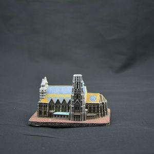 Customized Artistic Castle Building Model with Resin Material pictures & photos
