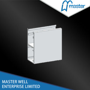 Aluminum Extrusion Side Rail for European Style Vertical Roller Shutter pictures & photos