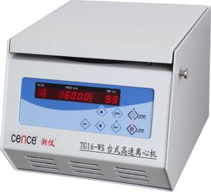 The Best Salable Tgl16ws Tabletop High Speed Centrifuge pictures & photos