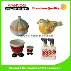 Wholesale Ceramic Sauce Bottle for Christmas Ornament pictures & photos