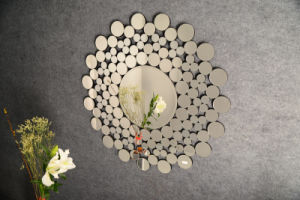 High Grade Glass Wall Round Mirror pictures & photos