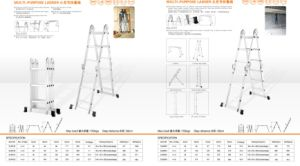 Multi-Purpose Ladder with Small Joints pictures & photos