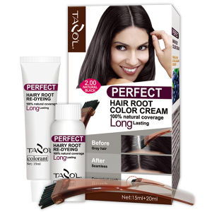 Tazol Perfect Permanent Hair Root Color Cream Burgundy pictures & photos