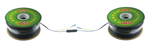 Dynamic Waterproof Single Mode 1 Core Fiber Optic Cables with Sc Connectors