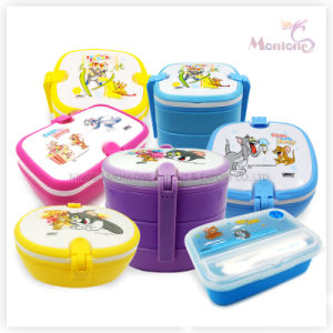 PP Food Container, Rectangular Portable Plastic Lunch Box pictures & photos
