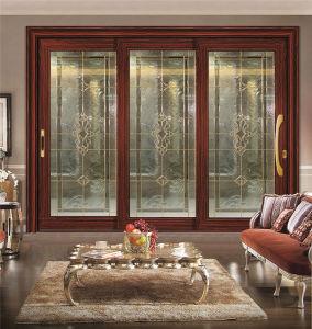 Horizontal Aluminium Sliding Glass Window with Grills Design pictures & photos