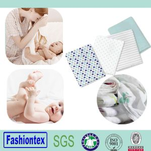 Cotton Washable Baby Gauze Muslin Nappy pictures & photos
