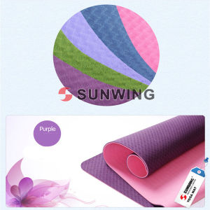 Best Quality Natural Rubber Yoga Mat pictures & photos