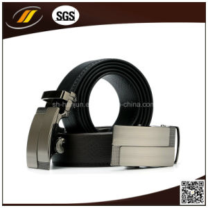 Genuine Leather Mens Alloy Automatic Buckle Waist Belts pictures & photos