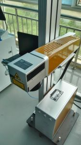 Automatic on The Fly CO2 60watta Laser Marking Machine pictures & photos