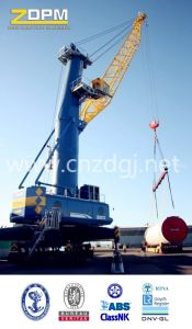 """Dual-Power"" Hydraulic Wheeled Straight Boom Grabbing Crane pictures & photos"