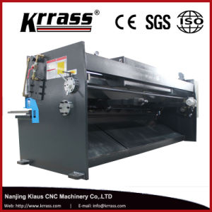 QC12k/QC12y CNC Hydraulic Swing Beam Guillotine Shearing Machine pictures & photos